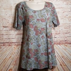Lularoe | Floral Tee /Dress NWOT